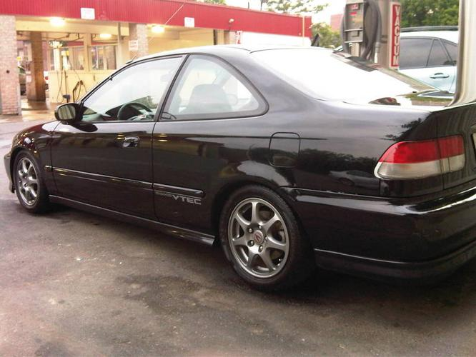 1999 honda civic sir type r coupe for sale in toronto. Black Bedroom Furniture Sets. Home Design Ideas
