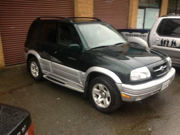 1999 suzuki grand vitara 3200 for sale in vancouver. Black Bedroom Furniture Sets. Home Design Ideas