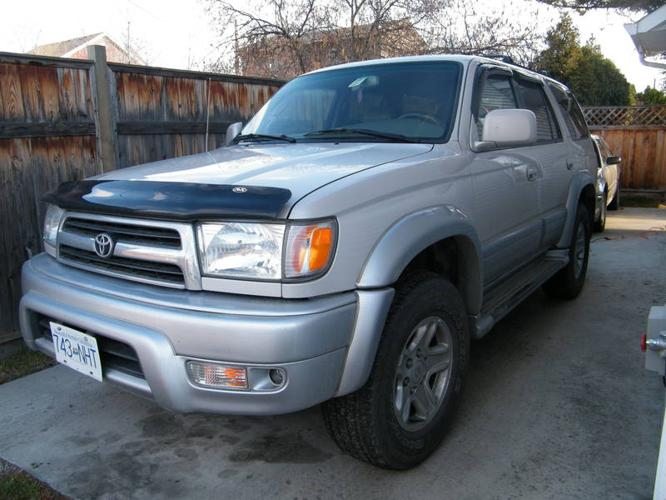 1999 toyota 4runner suv for sale in kelowna british columbia all cars in. Black Bedroom Furniture Sets. Home Design Ideas
