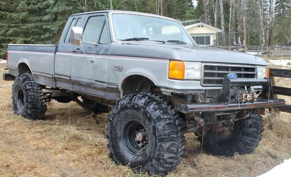 1 Ton Ford Crew Cab - CAD3000