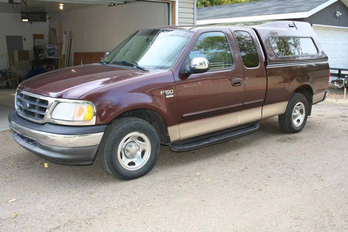 2000 ford f 150 xlt supercab truck for sale in saskatoon. Black Bedroom Furniture Sets. Home Design Ideas