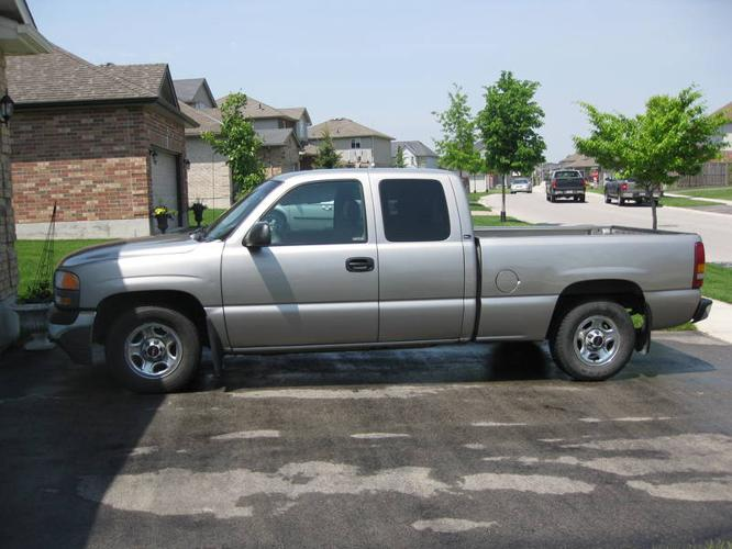 Cab London Ontario >> 2000 GMC Sierra 1500 SL Pickup Truck for sale in London, Ontario | All cars in Canada.com