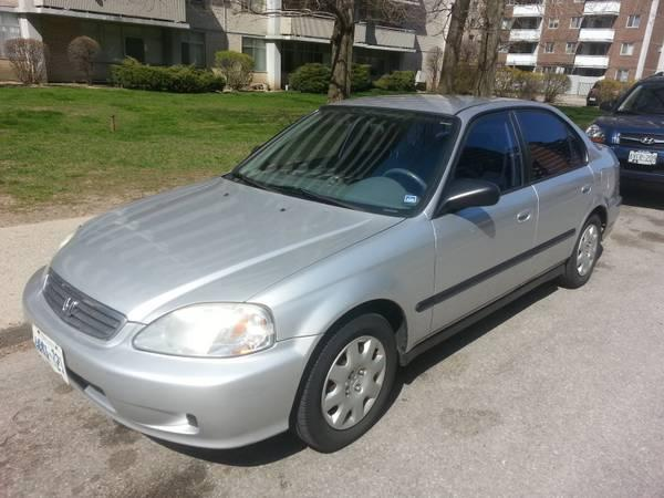 2000 Honda Civic Se 4 Door 2750 For Sale In Toronto