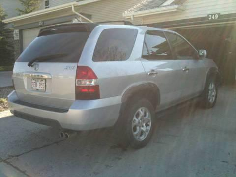 2001 Acura MDX Touring Edition for $10,000