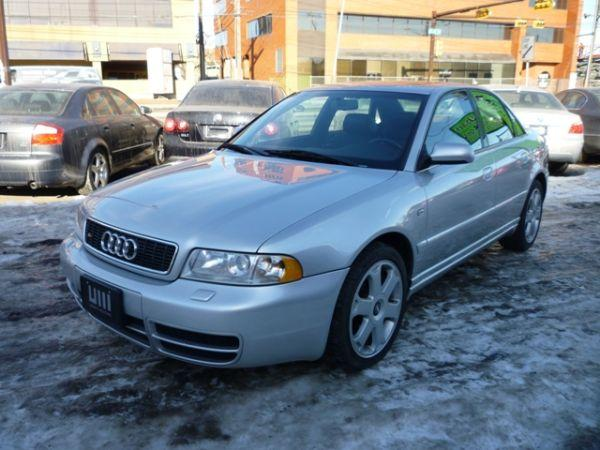 2001 Audi S4 2.7T QUATTRO/ALLOYS/SUNROOF/MINT CONDITION!! Sedan - $10995