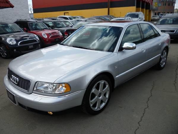 2001 Audi S8 4.2 QUATTRO/LEATHER/ALLOYS/NAVI/RARE MODEL! Sedan - $14995