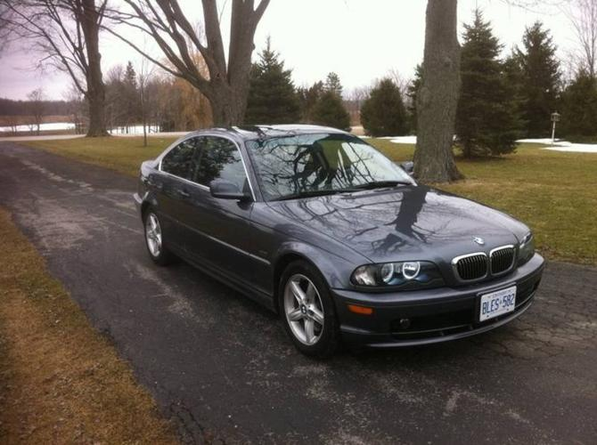 2001 bmw 3 series 325ci coupe for sale in london ontario all cars in. Black Bedroom Furniture Sets. Home Design Ideas