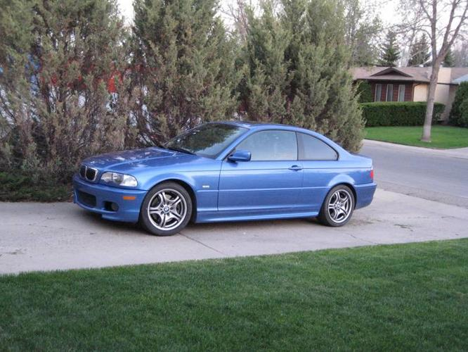 2001 BMW 3 Series 330CI With M Package Coupe