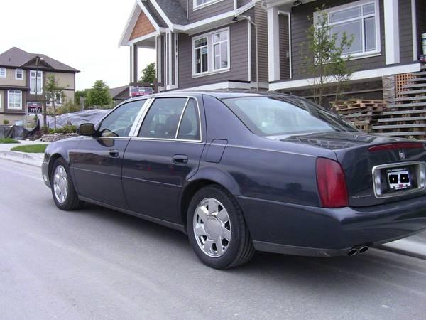 2001 cadillac deville with dts rims 5000 for sale in. Black Bedroom Furniture Sets. Home Design Ideas