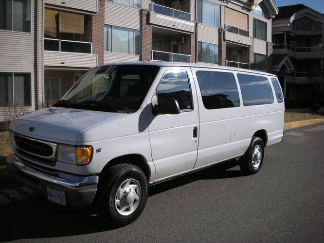 2001 ford e 350 minivan for sale in kelowna british columbia all cars in. Black Bedroom Furniture Sets. Home Design Ideas