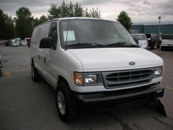 2001 ford e150 cargo van 6898 for sale in surrey. Black Bedroom Furniture Sets. Home Design Ideas