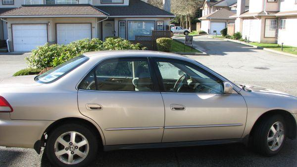 2001 honda accord 2 3l automatic   3300 for sale in surrey british columbia all cars in