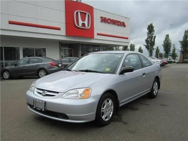 2001 Honda Civic 2dr Cpe LX Auto - $6350