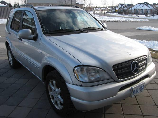 2001 mercedes benz m class suv for sale in london ontario for Mercedes benz suv 2001