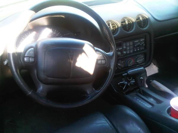 2001 Pontiac Firebird T-Top Convertible All Black - $3500