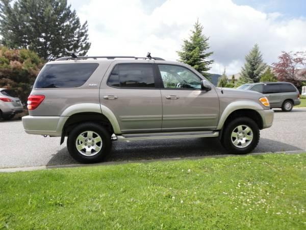 Toyota Sequoia on 2004 Toyota Sequoia Lifted