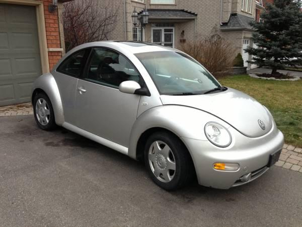 2001 V.W. Bettle TDI, 1 Owner Leather Roof, loaded, Diesel - $4900