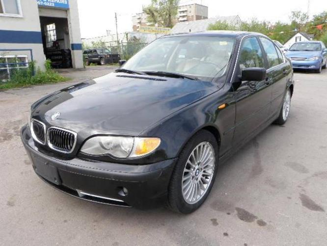 2002 bmw 3 series 330i sedan for sale in london ontario all cars in. Black Bedroom Furniture Sets. Home Design Ideas