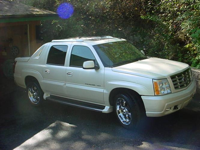 2002 cadillac escalade ext pickup truck for sale in nelson. Black Bedroom Furniture Sets. Home Design Ideas