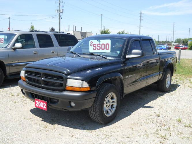 2002 dodge dakota pickup truck for sale in london ontario all cars in. Black Bedroom Furniture Sets. Home Design Ideas