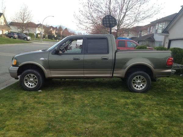 2002 Ford F 150 King Ranch 6500 For Sale In Abbotsford
