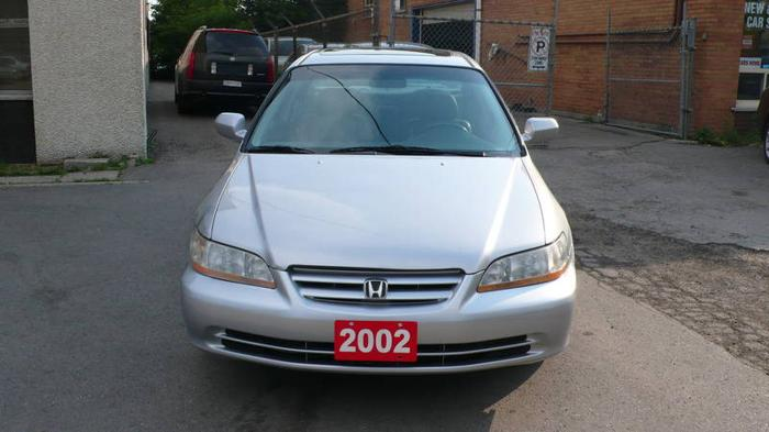 2002 honda accord exl sedan top of the line for sale in toronto ontario all cars in. Black Bedroom Furniture Sets. Home Design Ideas