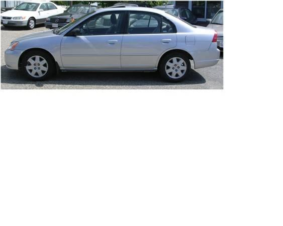 2002 Honda Civic Lx Sedan 3000 For Sale In Toronto