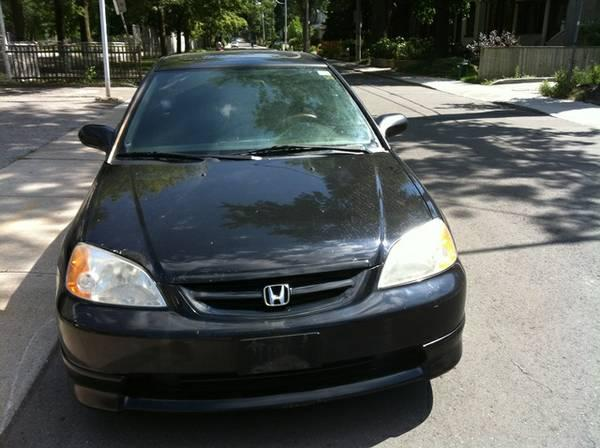 2002 honda civic si coupe 1495 for sale in toronto. Black Bedroom Furniture Sets. Home Design Ideas