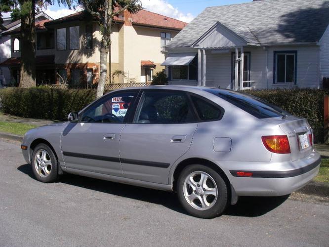 Elegant 2002 Hyundai Elantra GT Hatch Back (Loaded) Hatchback