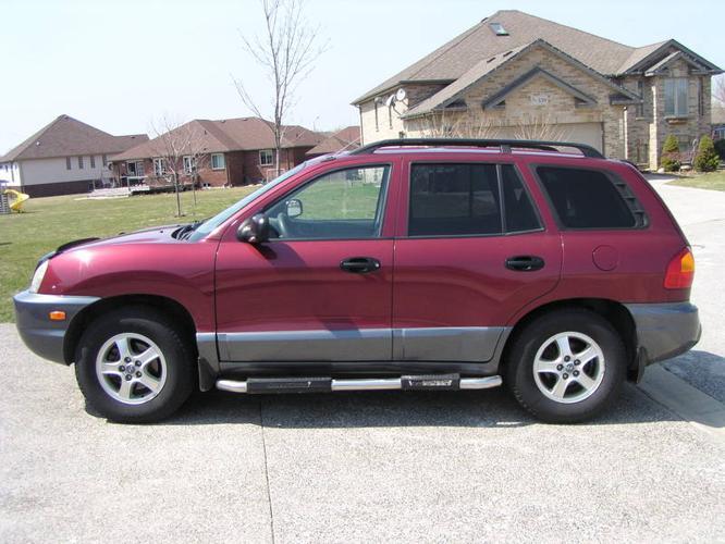 2002 Hyundai Santa Fe GLS SUV