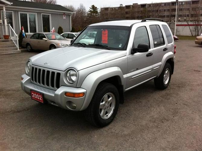 2002 Jeep Liberty LIMITED 4WD + LOW MILAGE & LOADED