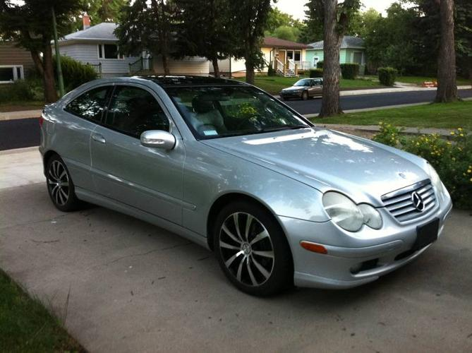 2002 mercedes benz c class c230 kompressor coupe for sale for 2002 mercedes benz c230 kompressor