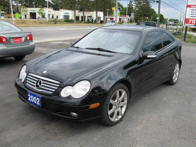 2002 mercedes benz c class kompressor coupe for sale in. Black Bedroom Furniture Sets. Home Design Ideas