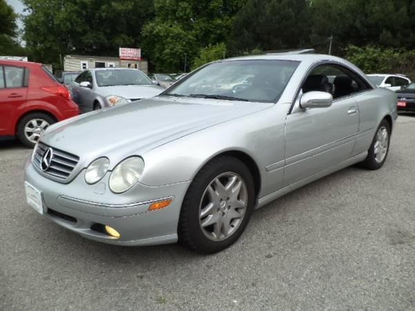 2002 Mercedes-Benz CL500 - $7888
