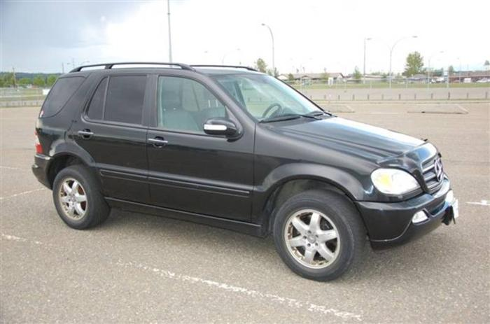 2002 mercedes benz m class ml 500 suv for sale in prince for 2002 mercedes benz suv