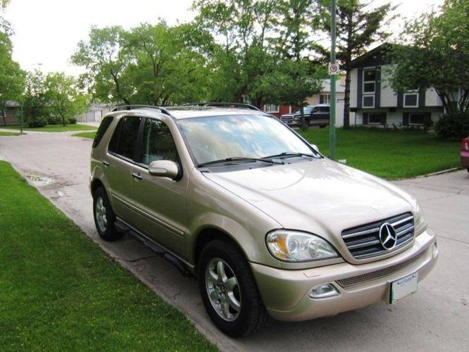 2002 mercedes benz ml500 suv for sale in winnipeg