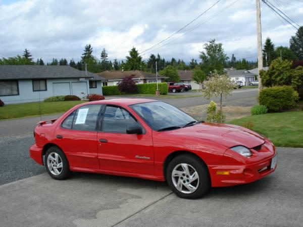 2002 Pontiac Sunfire - $2995