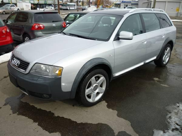 2003 Audi Allroad 2.7T QUATTRO/LEATHER/SUNROOF/ALLOYS SUV - $12995