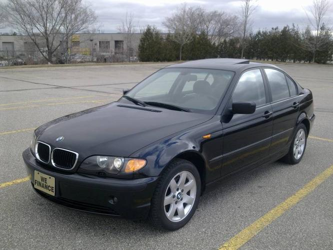 2003 BMW 325XI black on black, manual transmission !!