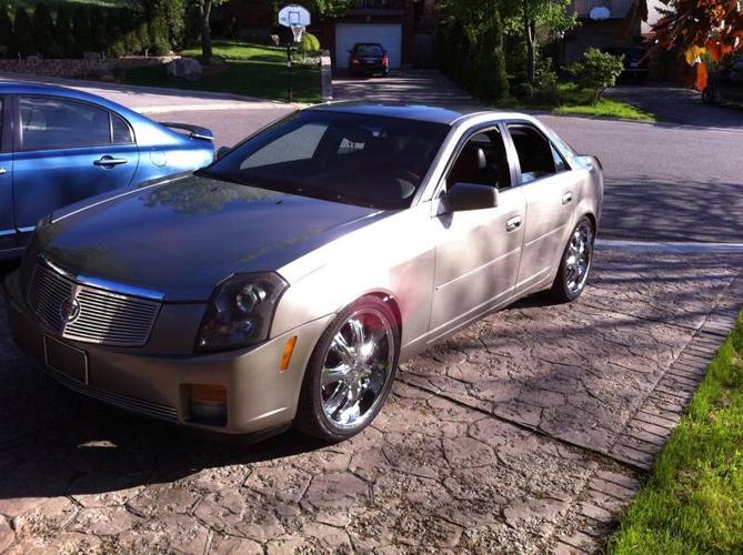 2003 Cadillac CTS blk Sedan