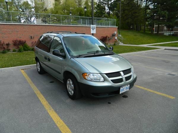 2003 Dodge Caravan SE Minivan - $2650