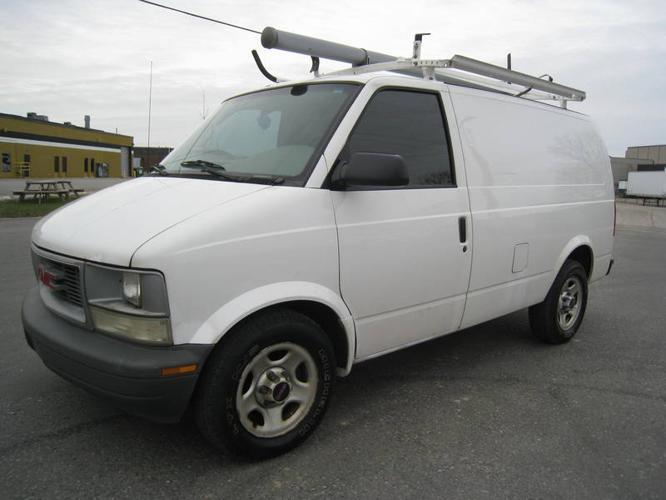 2003 Gmc Safari Cargo Van Shelving Divider Roof Racks 175kkm For