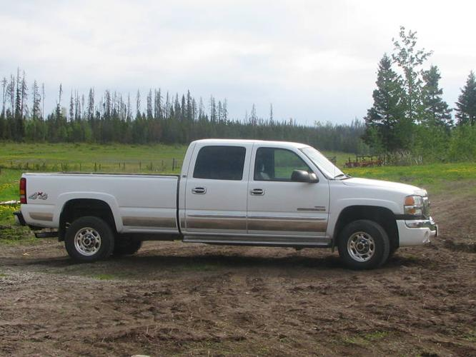2003 2500Hd diesel duramax duty gmc heavy pickup truck