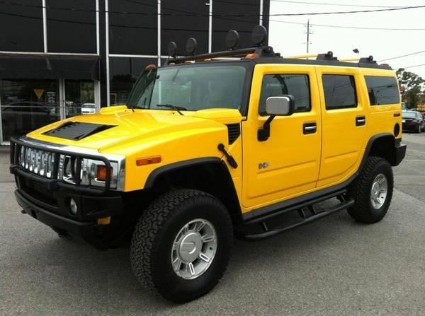 2003 HUMMER H2 4X4 - 6 PASSENGER - NO ACCIDENTS / EXTRA CLEAN - $13750