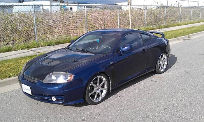 2003 hyundai tiburon tuscani coupe for sale in abbotsford british columbia all cars in. Black Bedroom Furniture Sets. Home Design Ideas