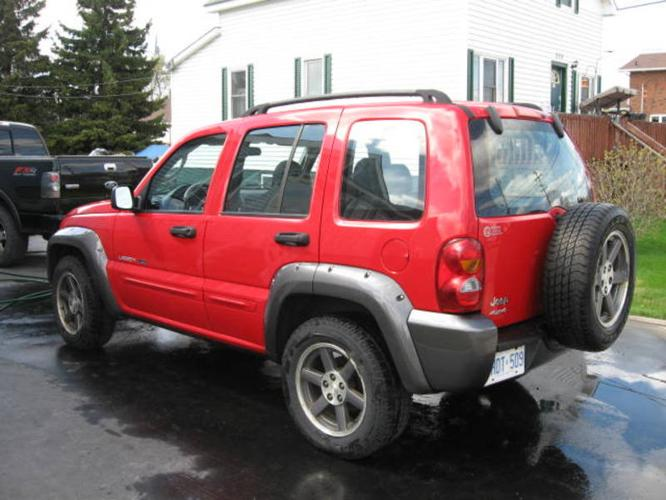 2003 jeep liberty rocky mountain edition suv for sale in timmins ontario all cars in. Black Bedroom Furniture Sets. Home Design Ideas