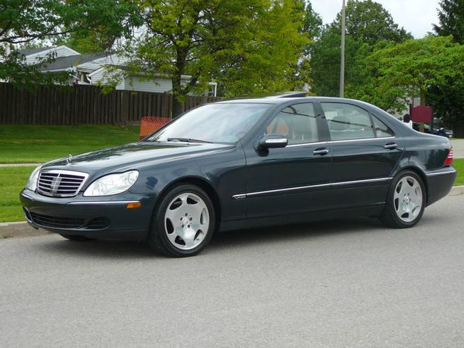 2003 Mercedes Benz S600 493hp 590ft Lb Torque Bi Turbo 5
