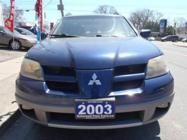 2003 Mitsubishi Outlander XLS - $4995