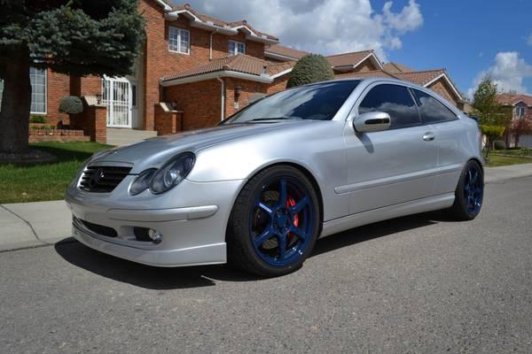 fs 2003 silver mercedes benz c230 sport coupe kompressor 12500 for sale in calgary alberta. Black Bedroom Furniture Sets. Home Design Ideas