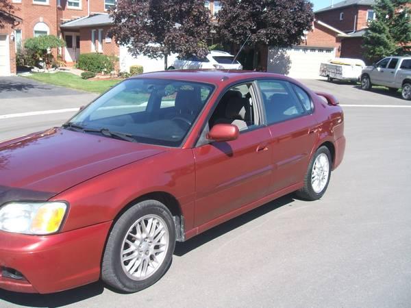 2003 Subaru Legacy Automatic Sedan AWD Sedan - $3500